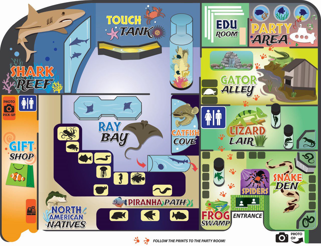 electric city aquarium map scranton pa